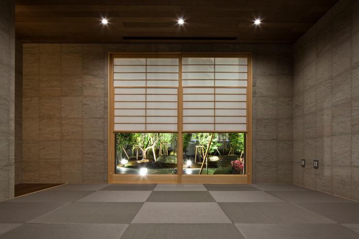 畳の部屋 依田英和建築設計舎 モダンデザインの 多目的室