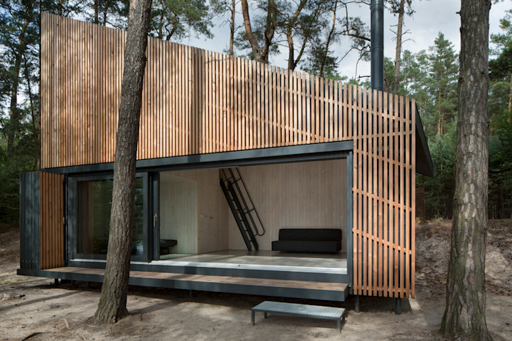 Lake Cabin FAM Architekti Maisons modernes