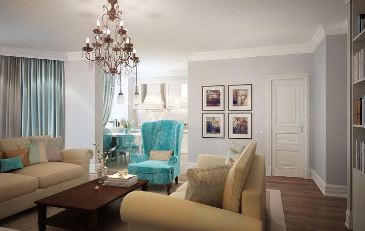Massimos / cтудия дизайна интерьера Living room