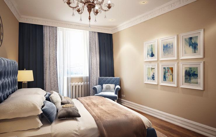 Massimos / cтудия дизайна интерьера Classic style bedroom
