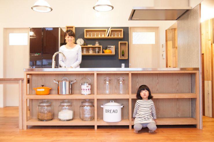 ADS一級建築士事務所 Cocinas de estilo ecléctico