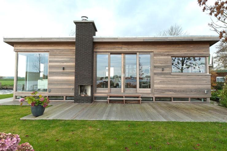 OX architecten Casas estilo moderno: ideas, arquitectura e imágenes