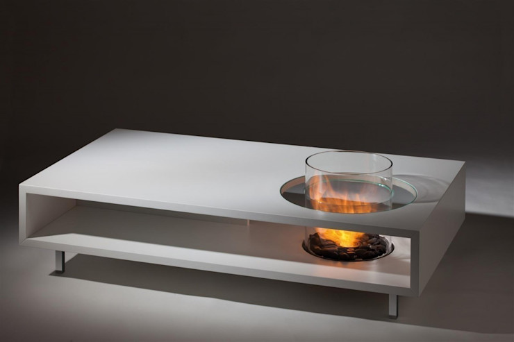 Coffee Fire Table Long Urban Icon Living roomSide tables & trays