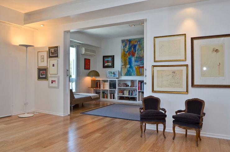 Piso en Palermo 1 & Casa en Libertador GUTMAN+LEHRER ARQUITECTAS Moderne Wände & Böden