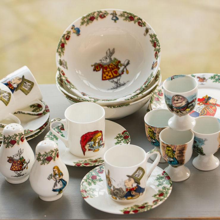 Alice In Wonderland Breakfast Set The Alice Boutique KitchenCutlery, crockery & glassware
