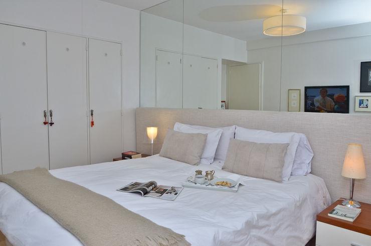 Piso en Palermo 1 & Casa en Libertador GUTMAN+LEHRER ARQUITECTAS Moderne Schlafzimmer