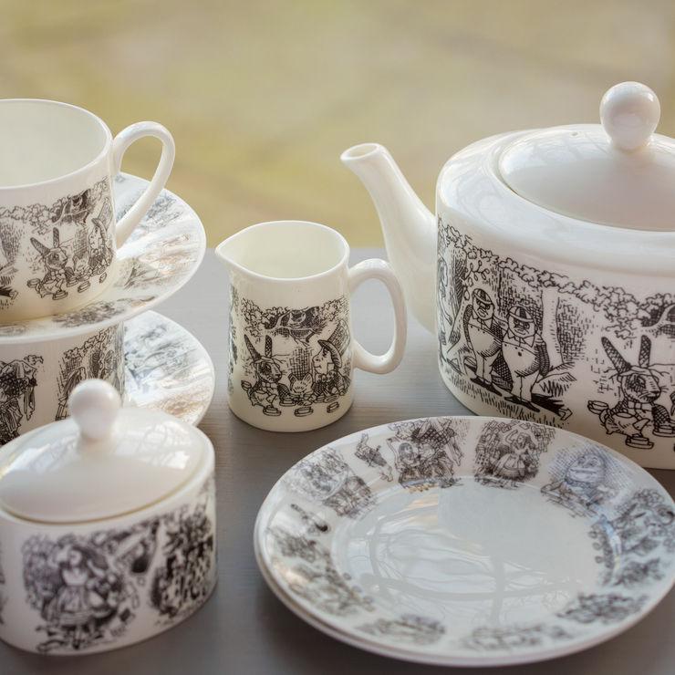 Monochrome Alice Tea Set The Alice Boutique Dining roomCrockery & glassware