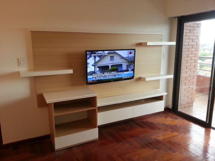 Proyecto Finalizado - Sector 2 Muebles del angel SalonesMuebles de televisión y dispositivos electrónicos