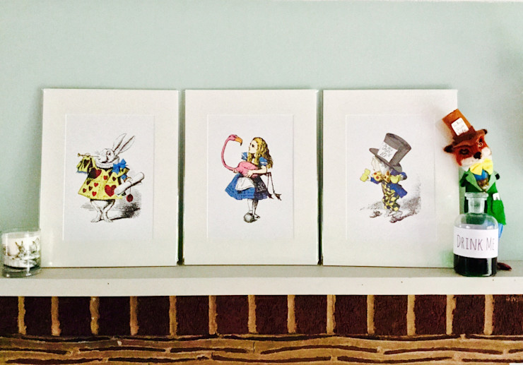 Alice In Wonderland Prints The Alice Boutique BedroomAccessories & decoration