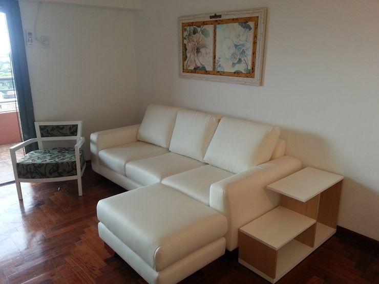 Proyecto Finalizado - Sector 1 Muebles del angel SalonesSofás y sillones