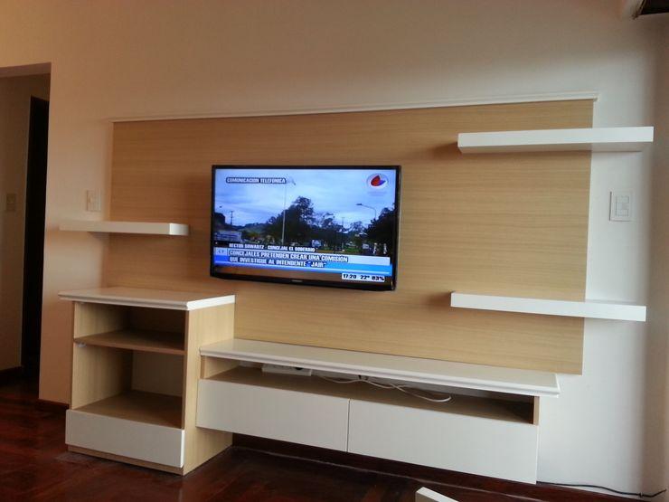 Proyecto Finalizado - Sector 1 Muebles del angel SalonesMuebles de televisión y dispositivos electrónicos