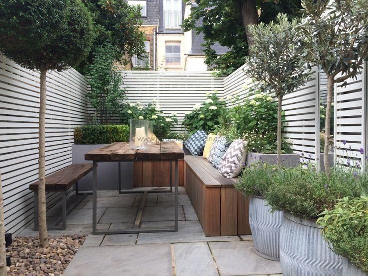 Slim & Subtle Rear Garden homify Modern garden