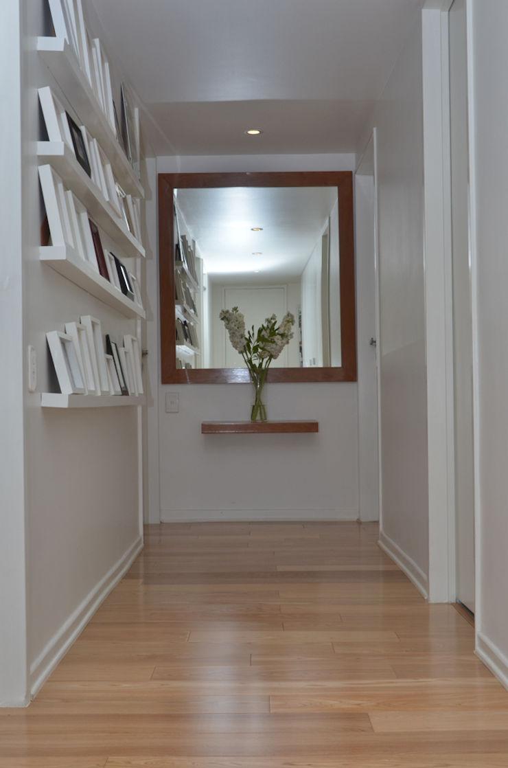 Piso en Palermo 1 & Casa en Libertador GUTMAN+LEHRER ARQUITECTAS Moderner Flur, Diele & Treppenhaus