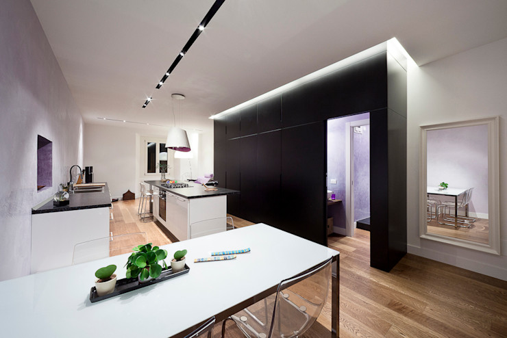 soggiorno 23bassi studio di architettura Soggiorno minimalista
