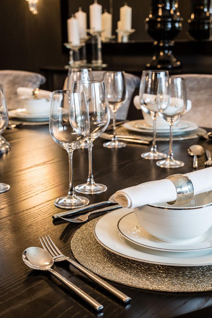 Dining Room Detail Luke Cartledge Photography Salas de jantar clássicas