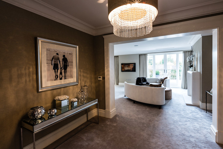 Master Bedroom Entrance Luke Cartledge Photography Quartos clássicos