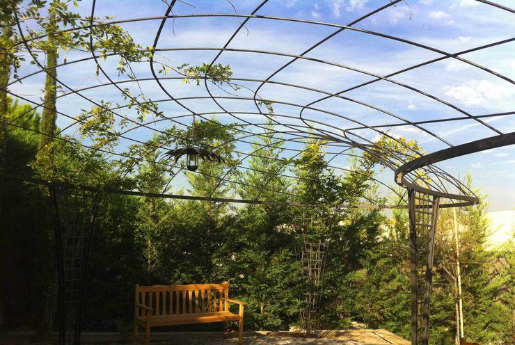 Cubierta vegetal Slabon Forja Creativa JardinesPérgolas e invernaderos