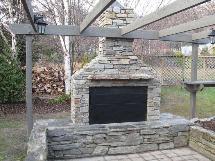 Clad your Braai in Stone The Braai Man 花園火坑與燒烤