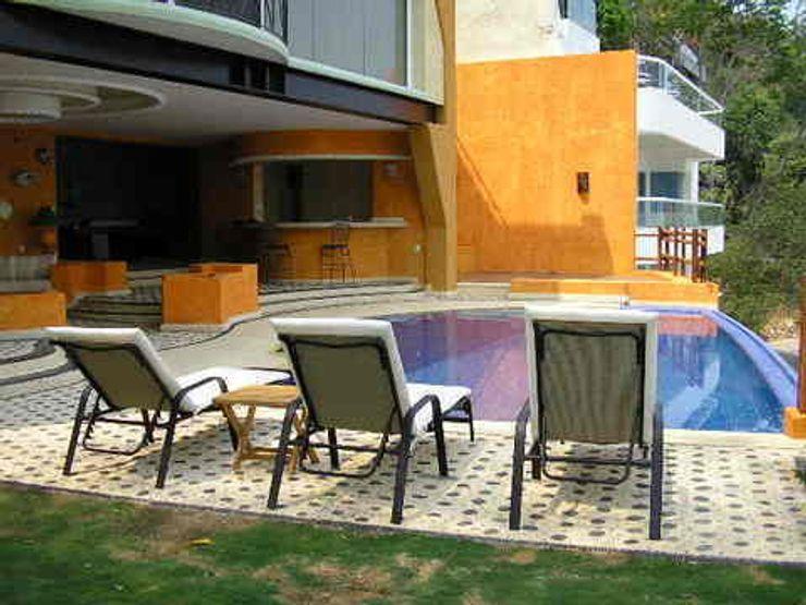 Jardin y Alberca ARQUELIGE Albercas tropicales