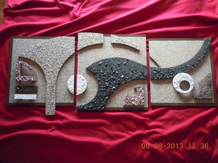 Murales minimalistas Murales Daniel Viva EstudioDecoración y accesorios