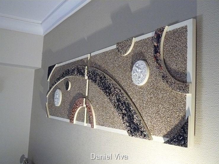 Murales minimalistas Murales Daniel Viva DormitoriosCamas y cabeceras