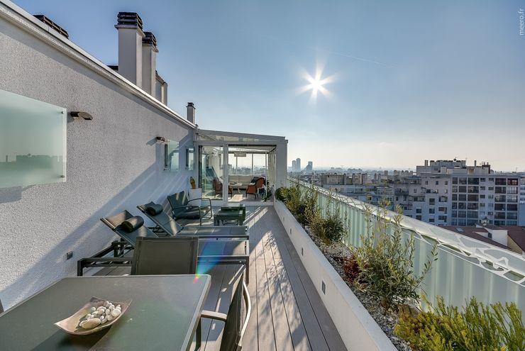 Meero Балкон и терраса в стиле модерн