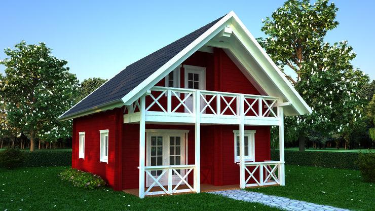 Holzhaus Stella Dr. Jeschke Holzbau GmbH & Co. KG Skandinavische Häuser