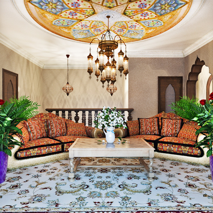 AbcDesign Asian style living room