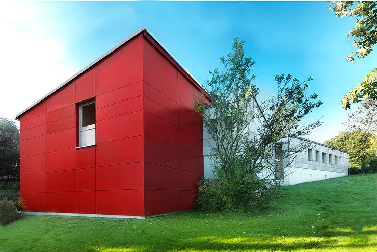 """""""Rotkäppchen"""" – Mastweg – Kindergarten in Wuppertal, Energetische Sanierung einer Kindertagesstätte insa4 ingenieure sachverständige architekten Moderne Schulen"""