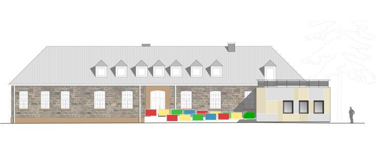 """""""Goldstück"""" – Kindergarten in Wuppertal, Energetische Sanierung einer Kindertagesstätte insa4 ingenieure sachverständige architekten"""