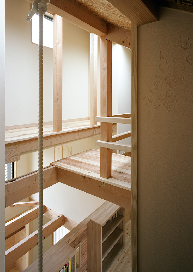 小栗建築設計室 Modern Kid's Room