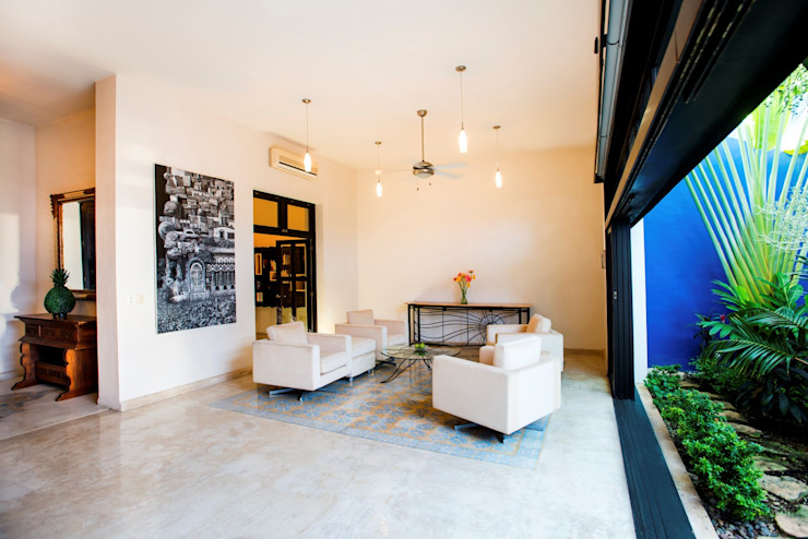 Taller Estilo Arquitectura Living room White