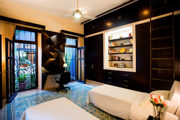 Taller Estilo Arquitectura Modern style bedroom Blue