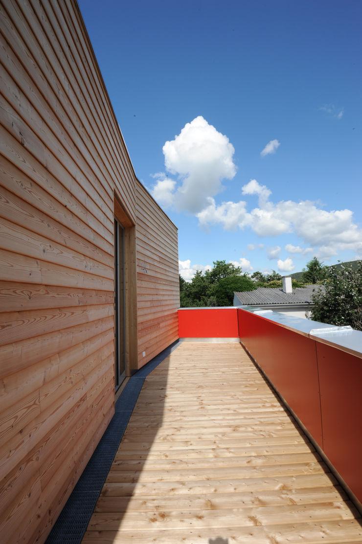 Symbios Architektur Modern Houses Wood-Plastic Composite Brown