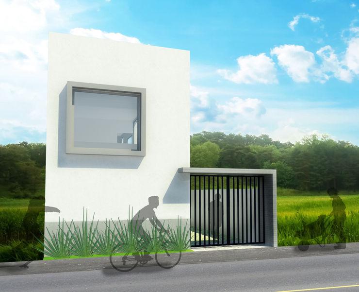 Casa I ODRACIR Casas minimalistas Blanco