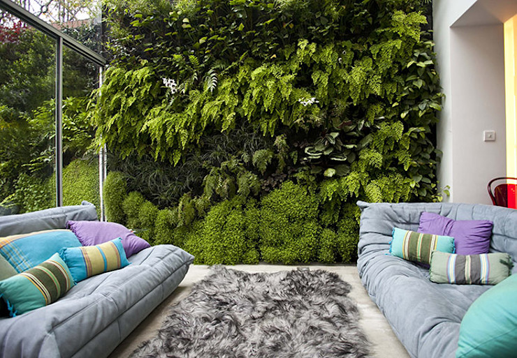 Jardines verticales Green Gallery Jardines modernos
