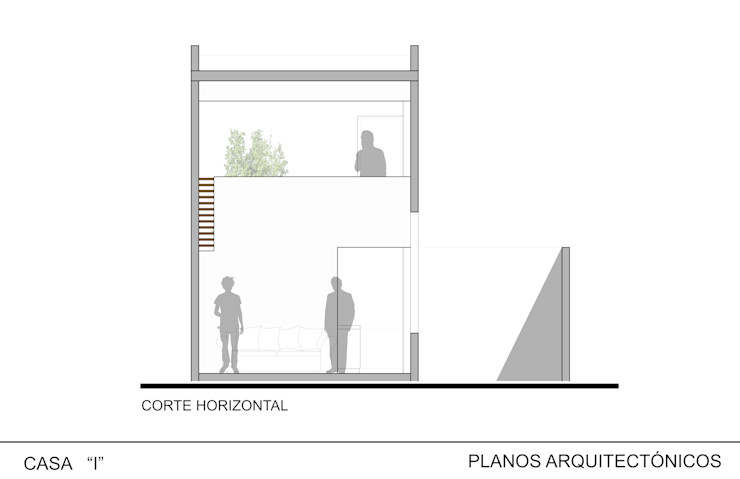 Casa I ODRACIR Salones minimalistas