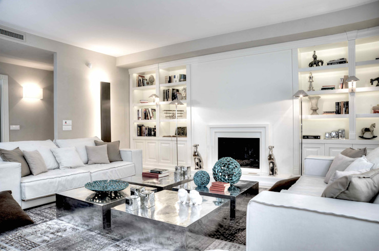 Ernesto Fusco Salones de estilo moderno