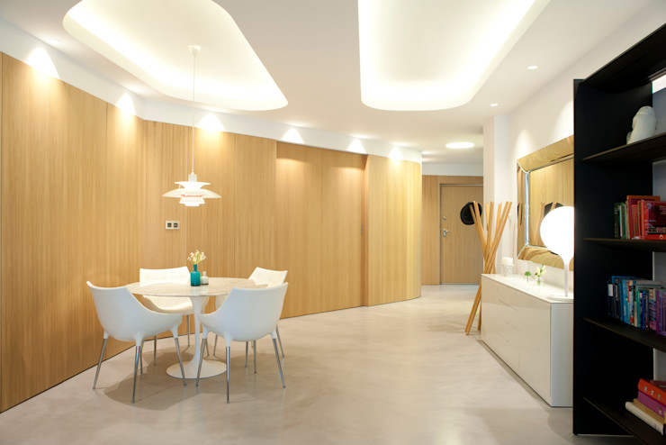 MADG Architect Столовая комната в стиле модерн