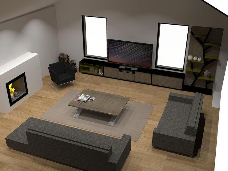 Démesure WohnzimmerTV- und Mediamöbel