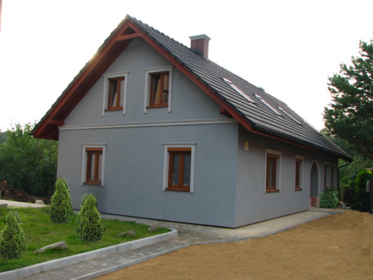 in2home Дома в эклектичном стиле Серый