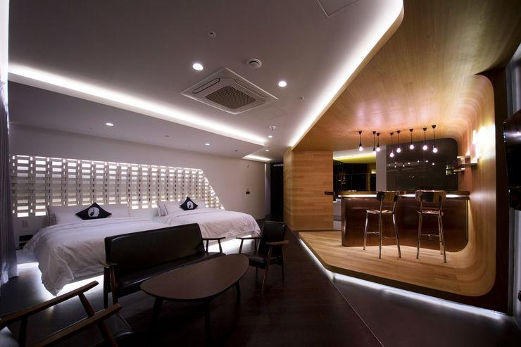 Lounge_17 Seungmo Lim 모던스타일 거실