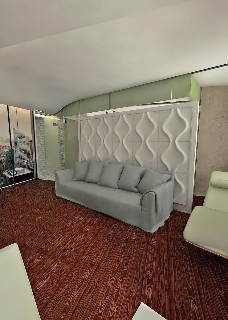 Частный архитектор, дизайнер Salas de estilo minimalista