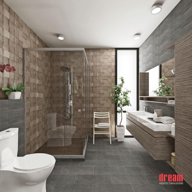 Estudio Meraki Modern bathroom