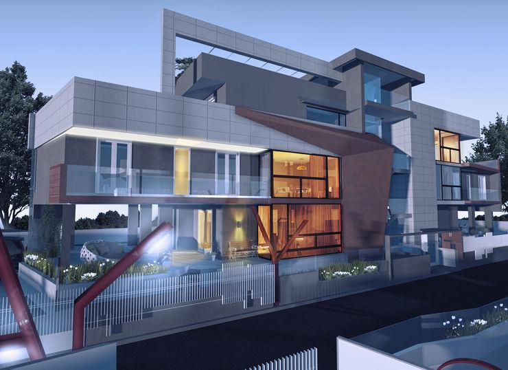 a5studio Casas estilo moderno: ideas, arquitectura e imágenes