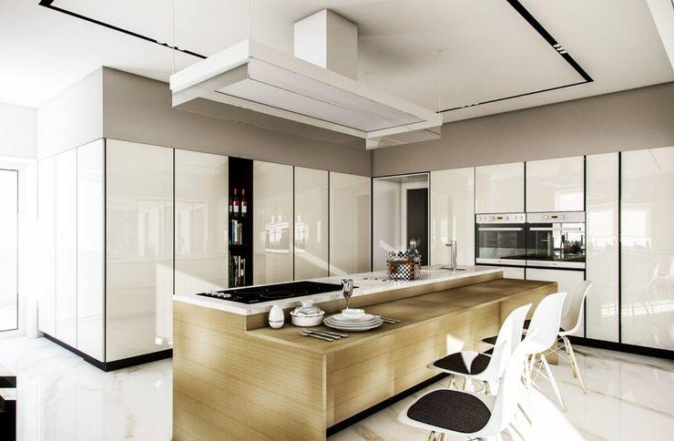 Vilaça Interiores 現代廚房設計點子、靈感&圖片