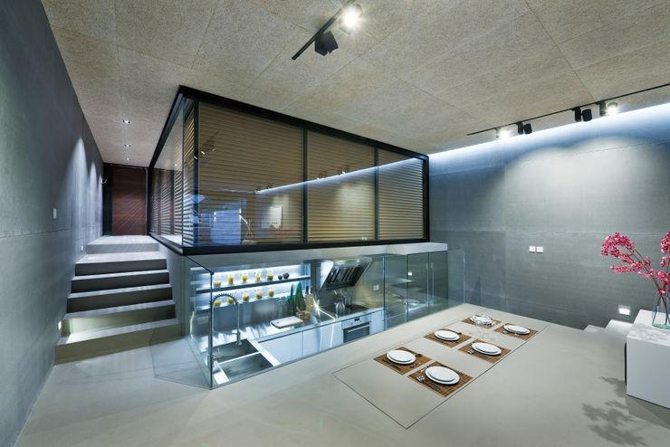 Millimeter Interior Design Limited 現代廚房設計點子、靈感&圖片