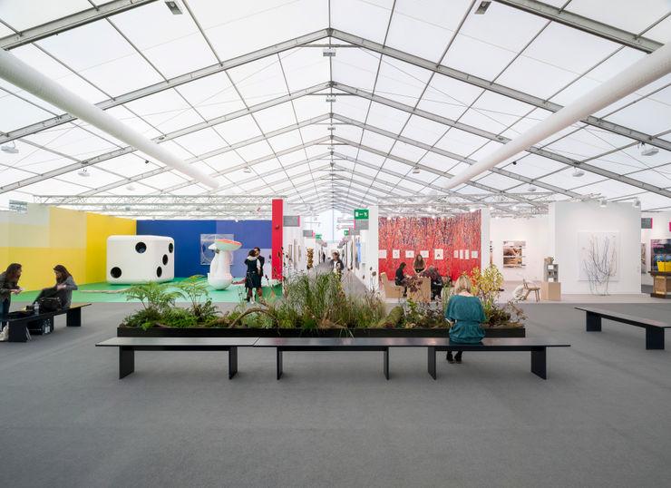 Frieze, London Universal Design Studio Modern exhibition centres