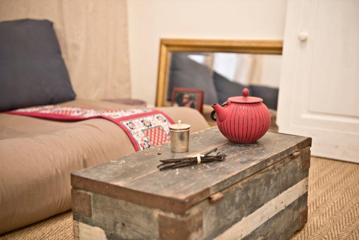 Cocottes Studio Спальня в рустикальном стиле