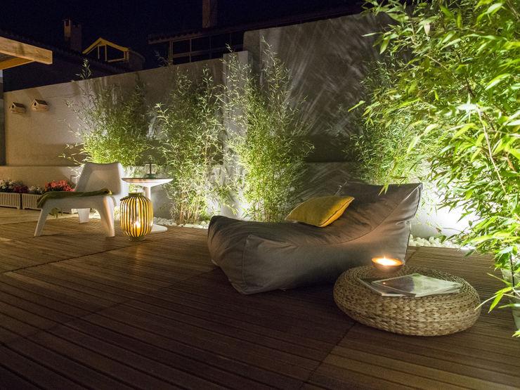 Jardim Bambus MUDA Home Design Jardins rústicos